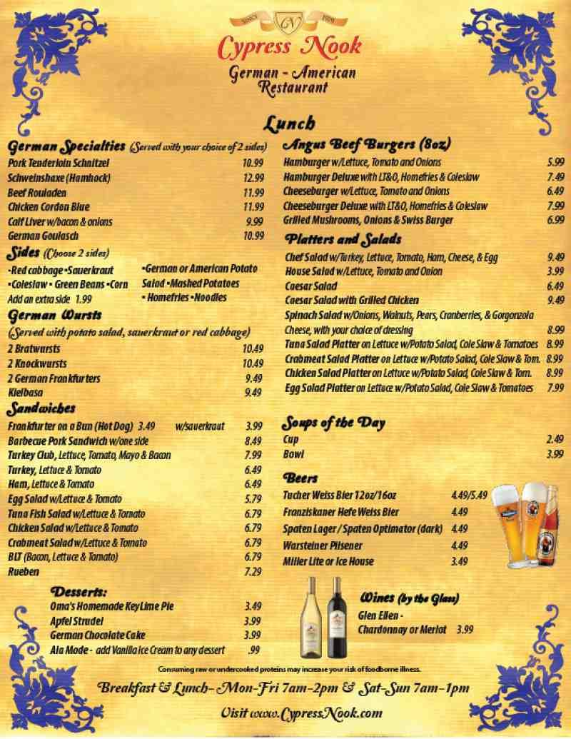 Cypress Cafe Fort Lauderdale Fl