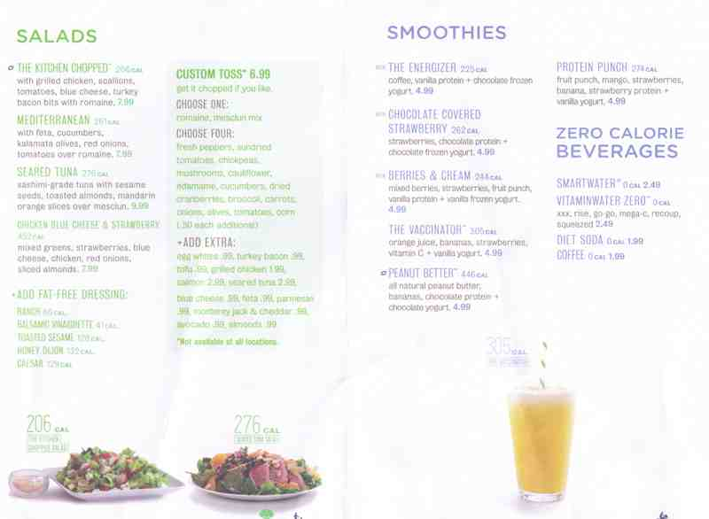 Menu for energy kitchen 1 n federal hwy suite 35 for The perfect kitchen menu