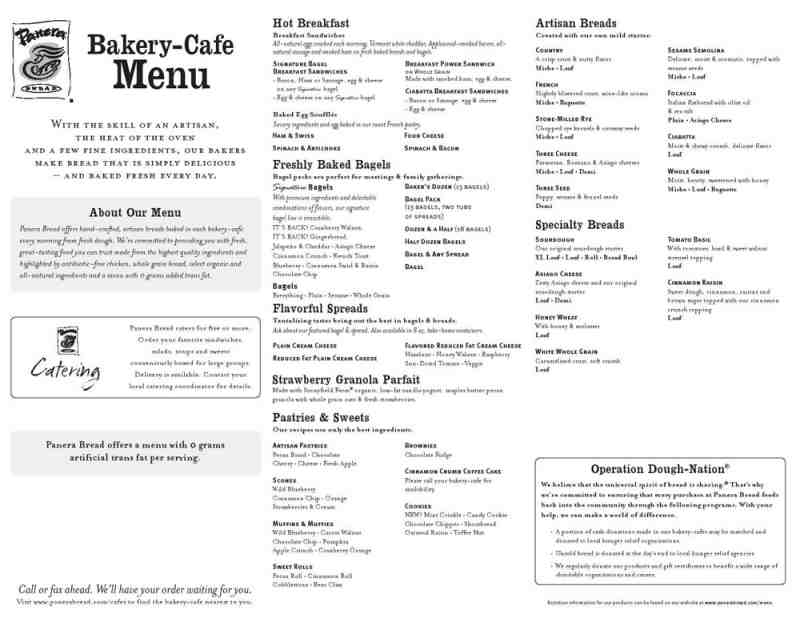 graphic about Panera Bread Printable Menu known as Panera Bread Reward Card Devoid of Pin Amount