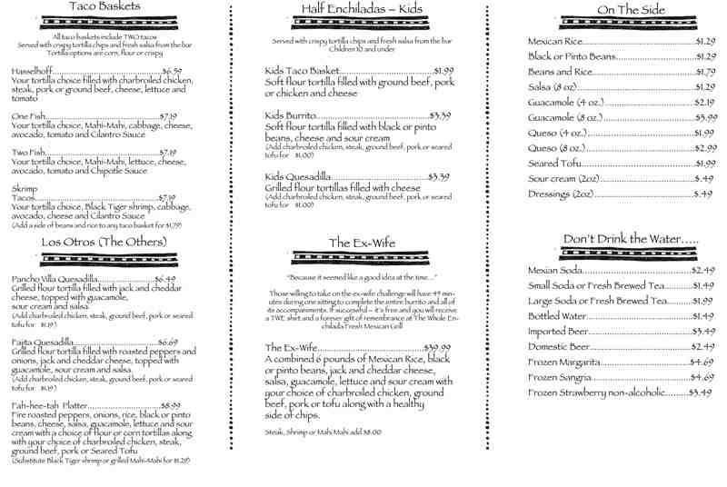 photograph regarding Qdoba Menu Printable titled Charges For: Qdoba Charges For Catering