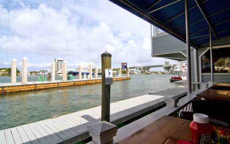 View from the Dockside Seating