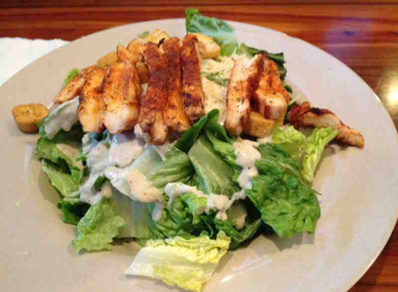 Ale House Blackened Chicken Caesar