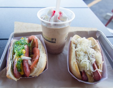 BurgerFi NY and Chicago Dogs