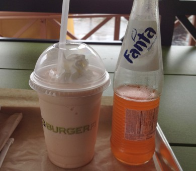 BurgerFi Orange Cow