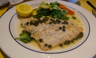 Cafe Vico Flounder Lunch