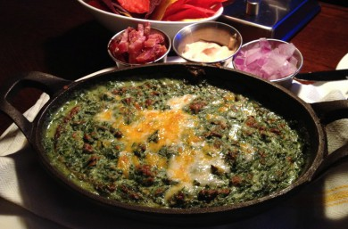 Royal Pig Spinach Dip