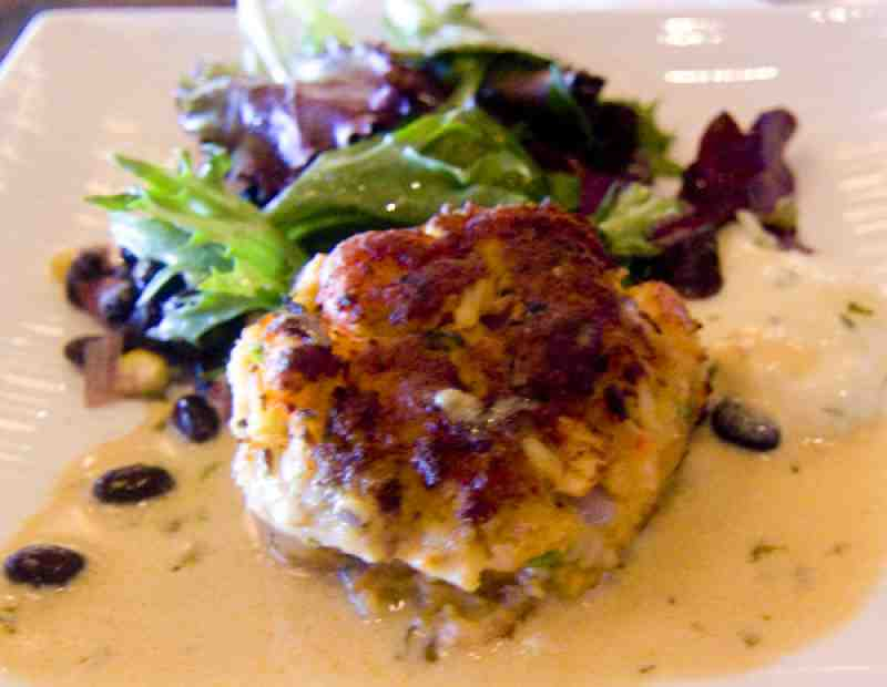 blue Moon Fish Co Crabcake