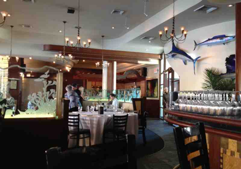 Blue Moon Fish Co Dining Room