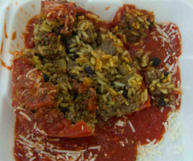 Bob and Wilsons Stuffed Pepper