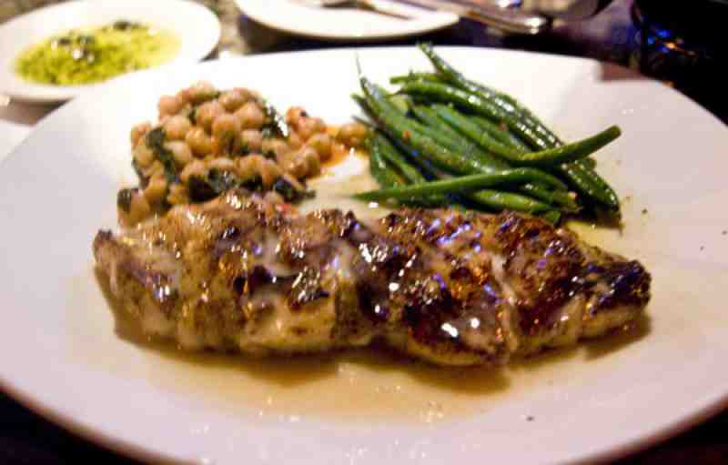 Bonefish Grill Grouper with Lemon Butter