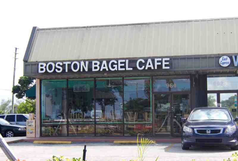 Boston Bagel Cafe Fort Lauderdale Fl