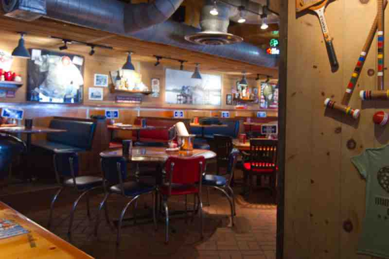 Bubba Gump Dining Room