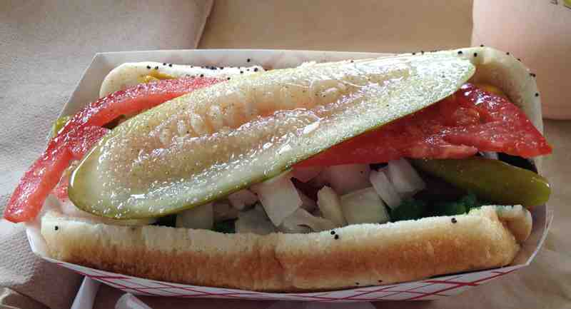 BurgerFi Sunrise Chicago Dog