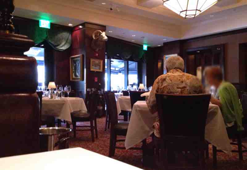 Capital Grille Fort Lauderdale Interior