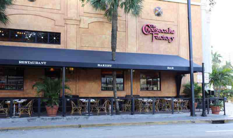 Cheesecake Factory Awning