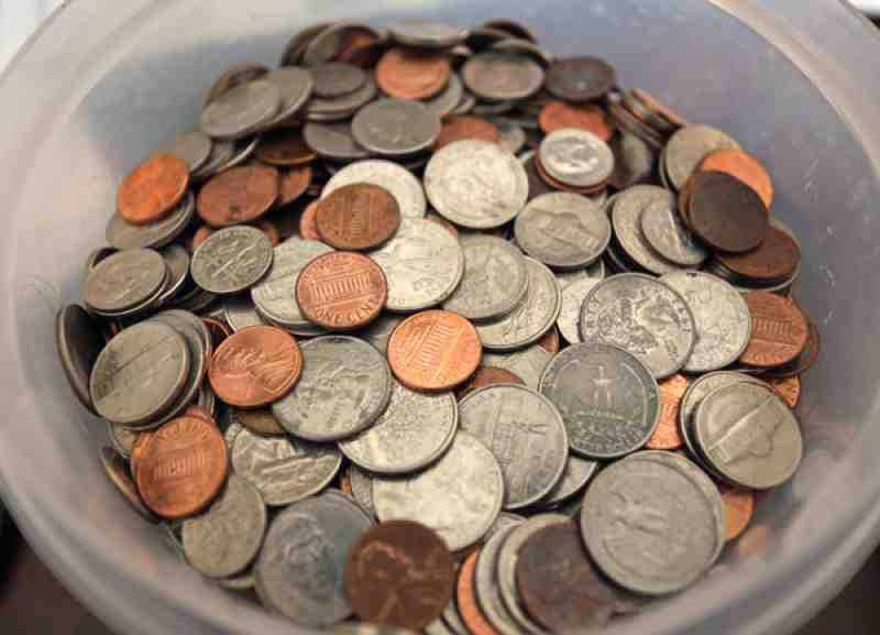 Cashing In Your Spare Change