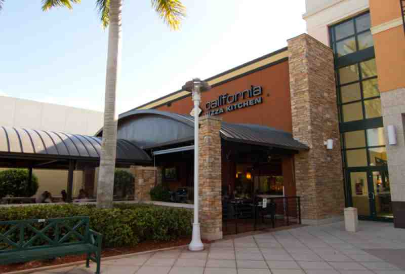 California Pizza Kitchen Boca Raton Mall