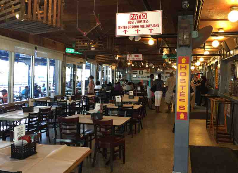 Review Of Rustic Inn Crabhouse 33004 Restaurant 4331 Ravenswoo