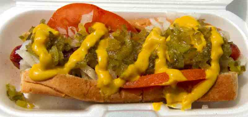 Dandee Donuts Factory Sad Chicago Dog