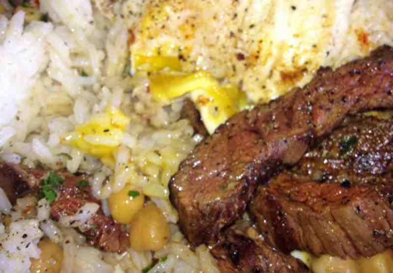 DBA Cafe Brunch Skirt Steak