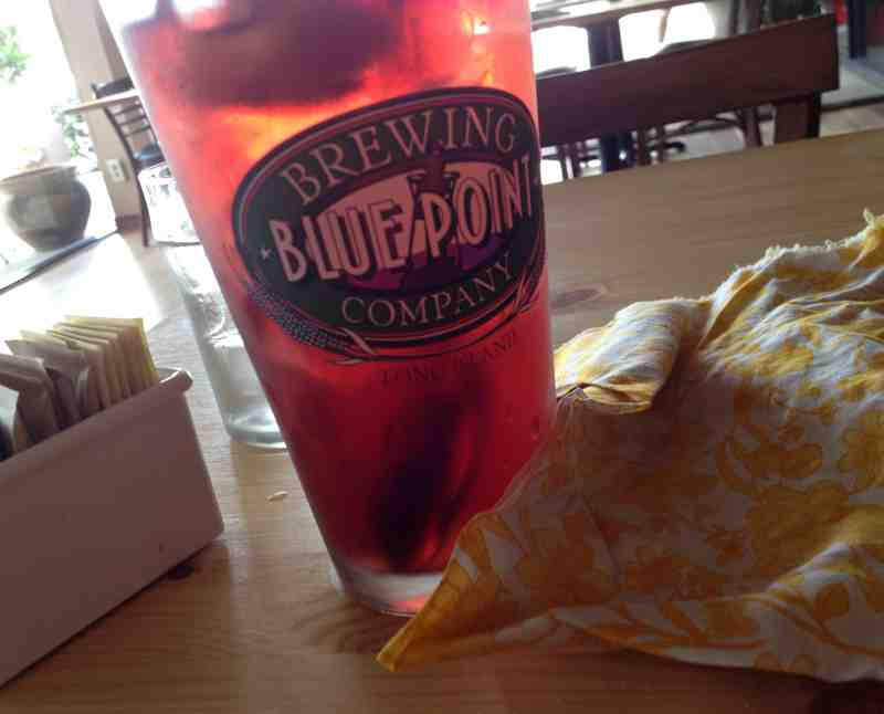 DBA Cafe Pomegranate Iced Tea