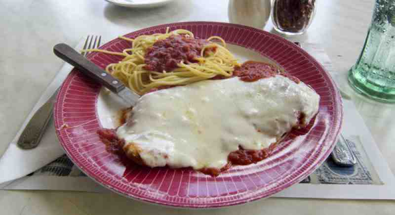 Don and Vinnys Chicken Parmesan Lunch