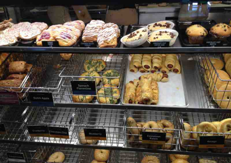 Einstein Bagels Display Case
