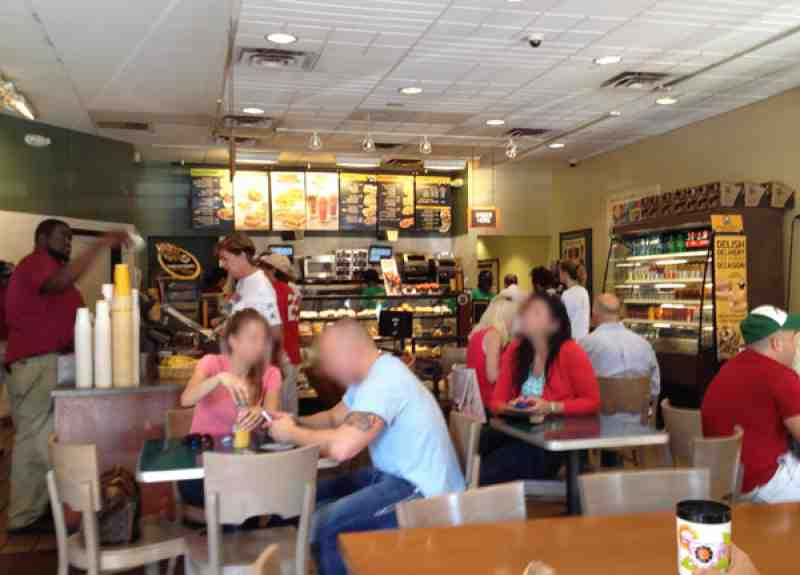 Einstein Bros Bagels Downtown Fort Lauderdale Inside