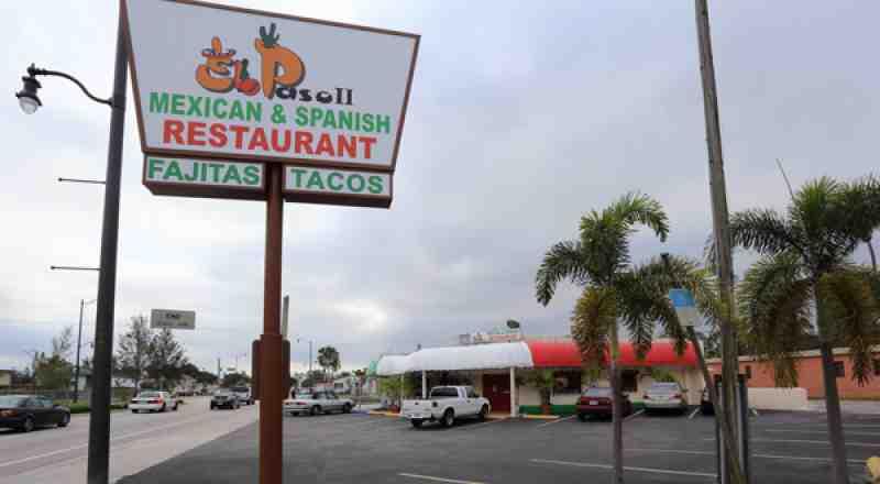 review of el paso ii 33020 restaurant 1800 n federal hwy inside fort lauderdale