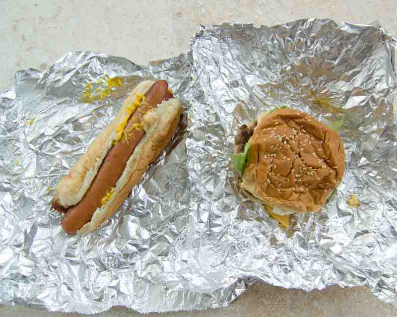 Five Guys Burger and Hot Dog