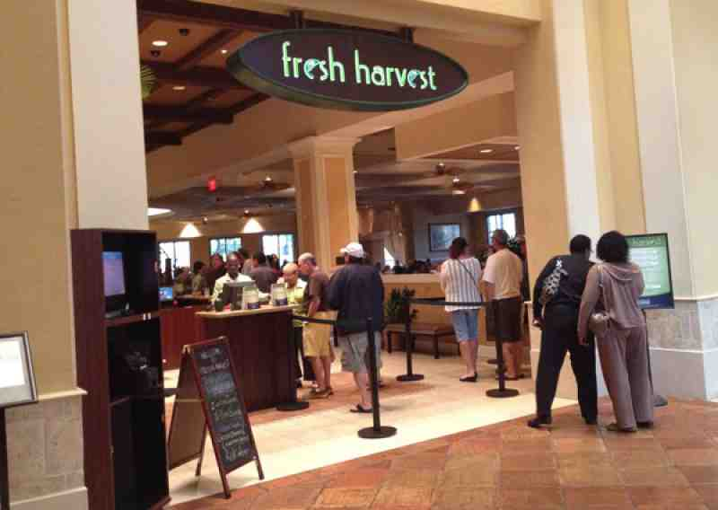 Fresh Harvest Buffet Entrance