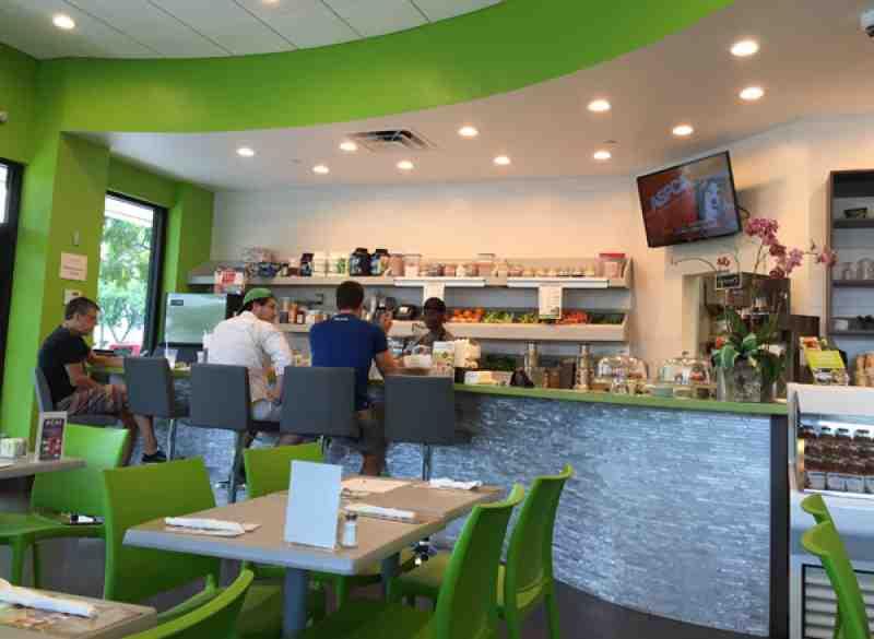 Gourmet Garden Cafe Juices