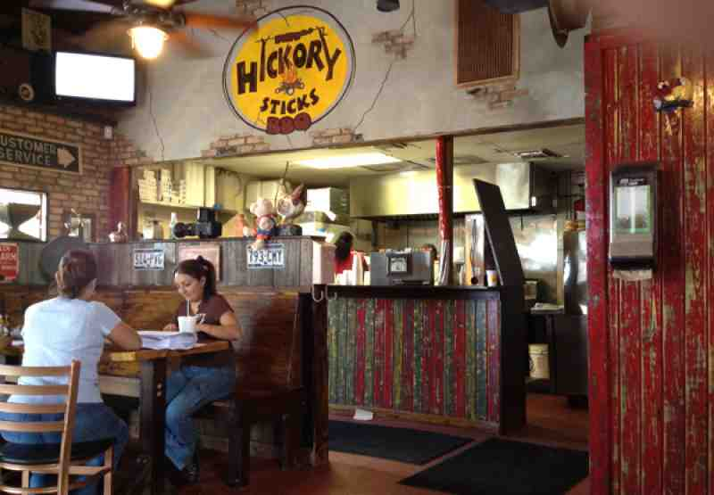Hickory Sticks Interior