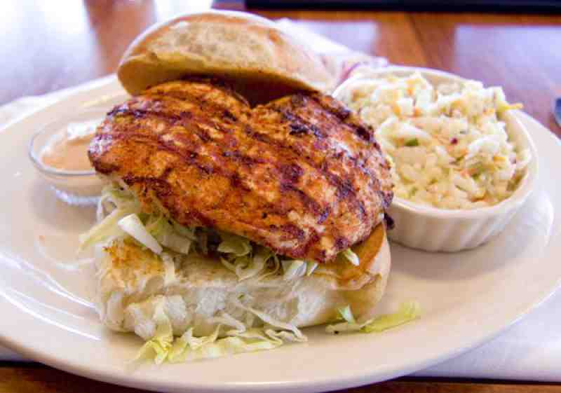 J Marks Cajun Chicken Sandwich