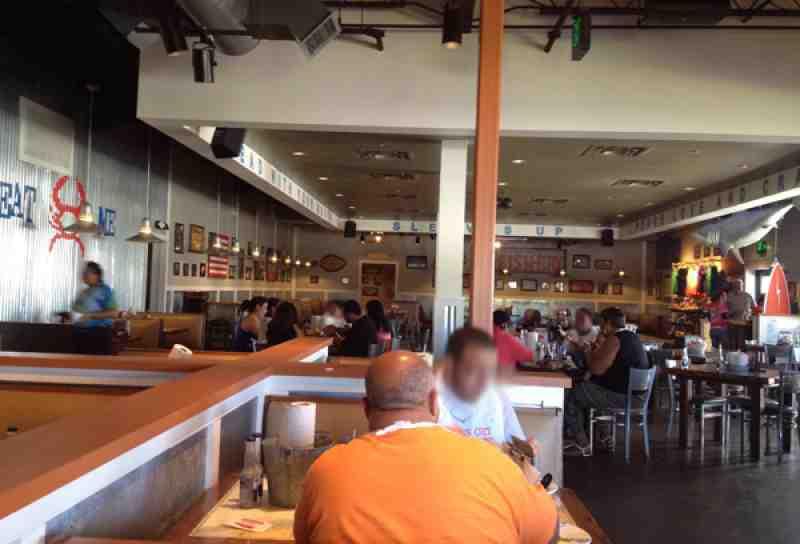 Review of Joe's Crab Shack 33304 Restaurant 1451 N Federal Hwy