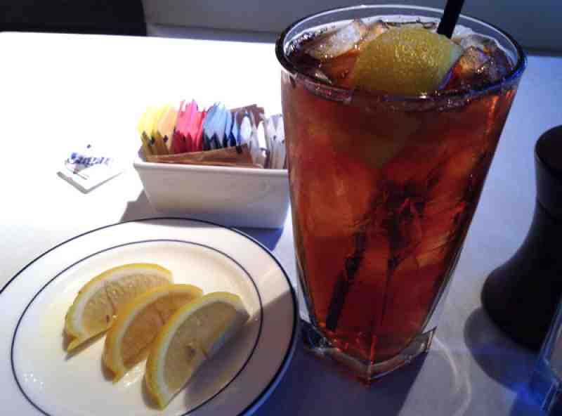Lobster Bar Sea Grille Iced Tea