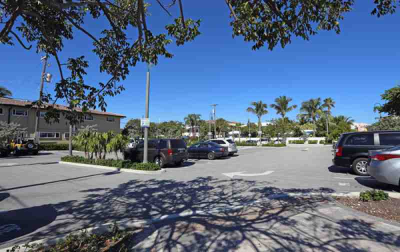 Parking Lot in Lauderdale By the Sea