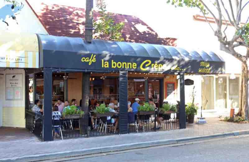Cafe La Bonne Crepe 815 E Las Olas Blvd
