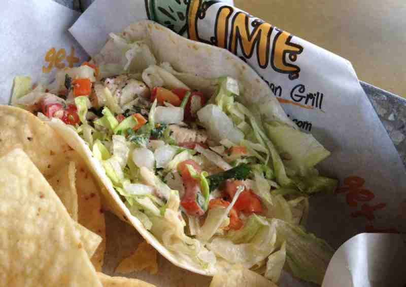 Lime Fresh Fish Taco