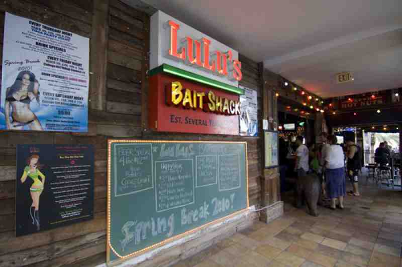 Review of Lulu's Bait Shack 33316 Restaurant 17 S Ft Lauderdal