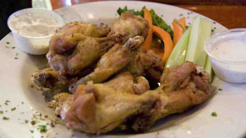 "Maguires Hill ""Jerk"" wings"