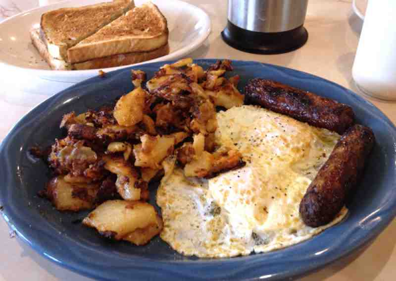 Moonlite Diner Hollywood Eggs