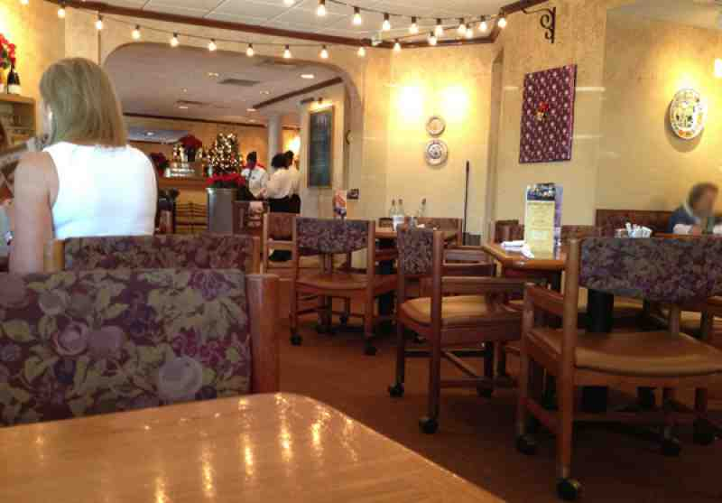 Review of olive garden restaurant n federal hwy