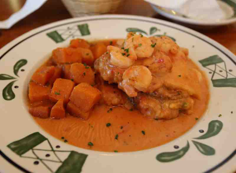 Olive Garden Stuffed Chicken di Mare