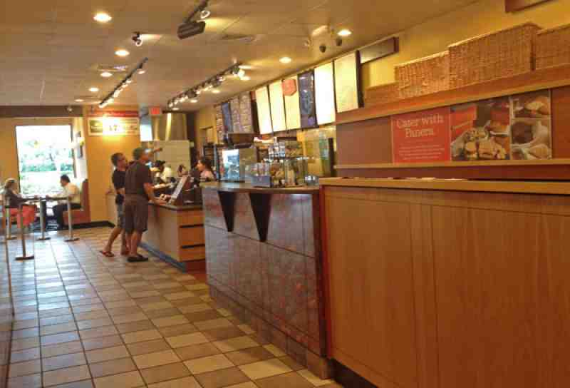 Panera Bread N Federal Counter