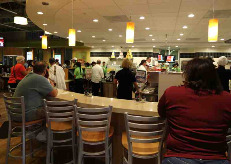 PDQ Counter and Kitchen