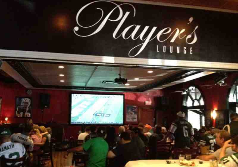players lounge