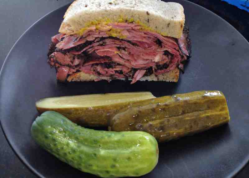Pomperdale Pastrami with Claussen Dill