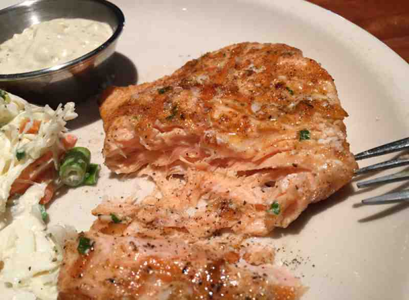 Redlands Grill Salmon