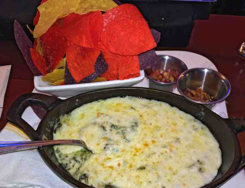Royal Pig Pub Spinach Dip 05/15